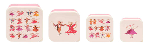 Emma Bridgewater Dancing Mice set of 4 snack tubs