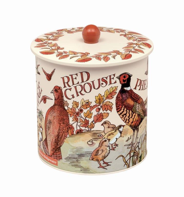 Emma Bridgewater Game Birds biscuit barrel - Daisy Park
