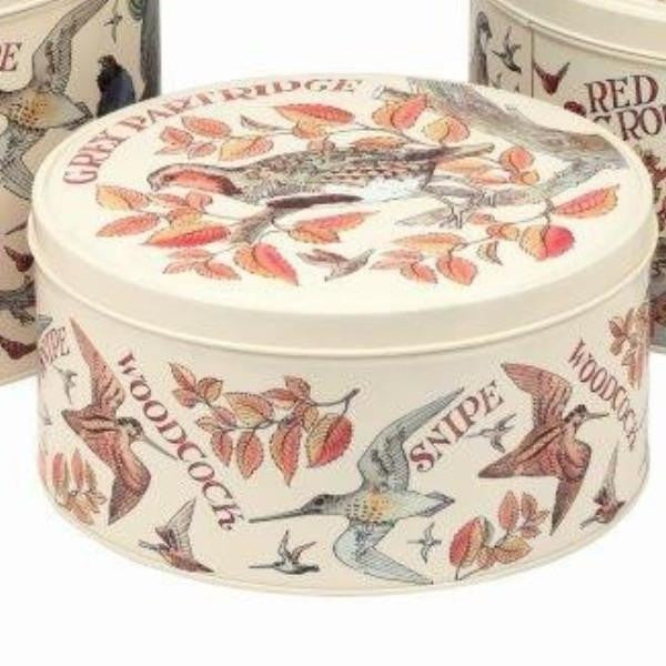 Emma Bridgewater Game Birds cake tin