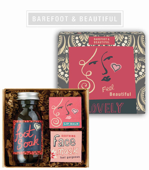 Barefoot beauty pamper gift box - Daisy Park