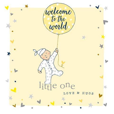 New Baby Card - Daisy Park