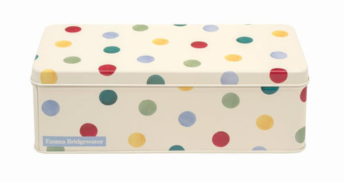 Emma Bridgewater Polka dot cracker tin-original