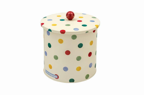 Emma Bridgewater Polka dot biscuit barrel - Original - Daisy Park