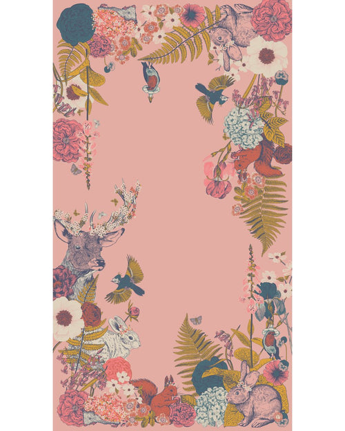 Countryside Animals scarf - Daisy Park