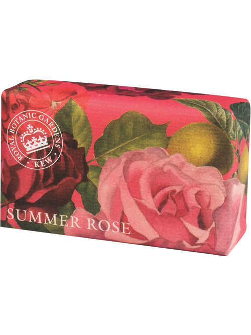 Kew Gardens Soap Summer Rose 240g