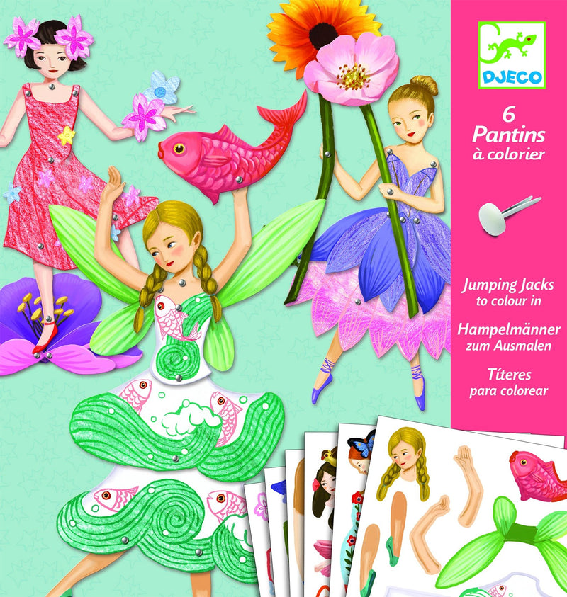 Djeco Jumping Jacks Fairies - Daisy Park