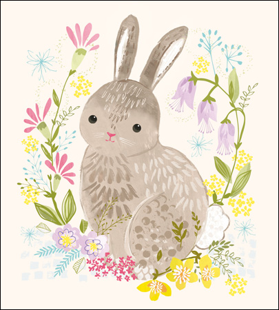 Bunny Love -Easter card