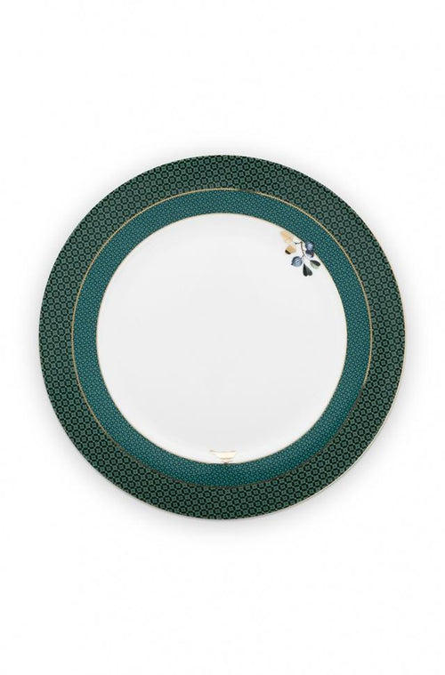 Pip Studio Winter Wonderland green 26.5cm plate - Daisy Park