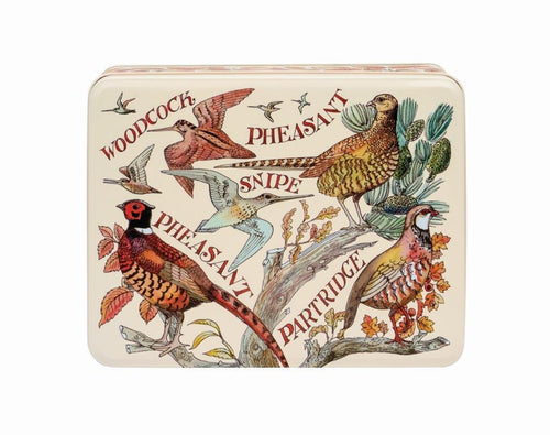 Emma Bridgewater Game Birds deep rectangular tin - Daisy Park
