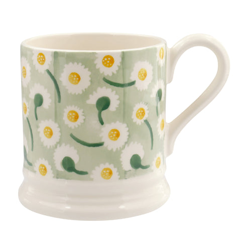 Emma Bridgewater Daisy Light Green 1/2pt mug - Daisy Park