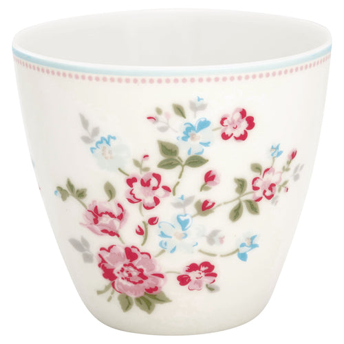 Greengate Sonia white latte cup - Daisy Park