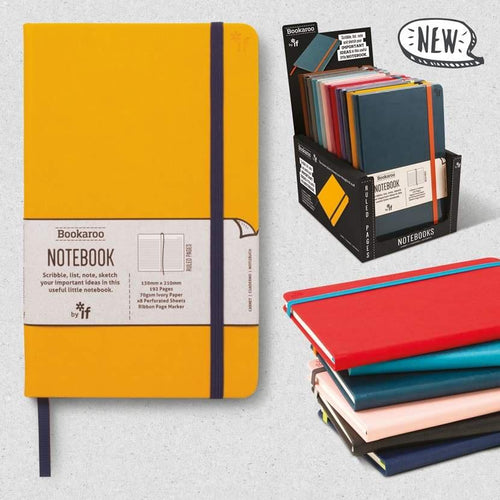 Bookaroo A5 notebook - Daisy Park