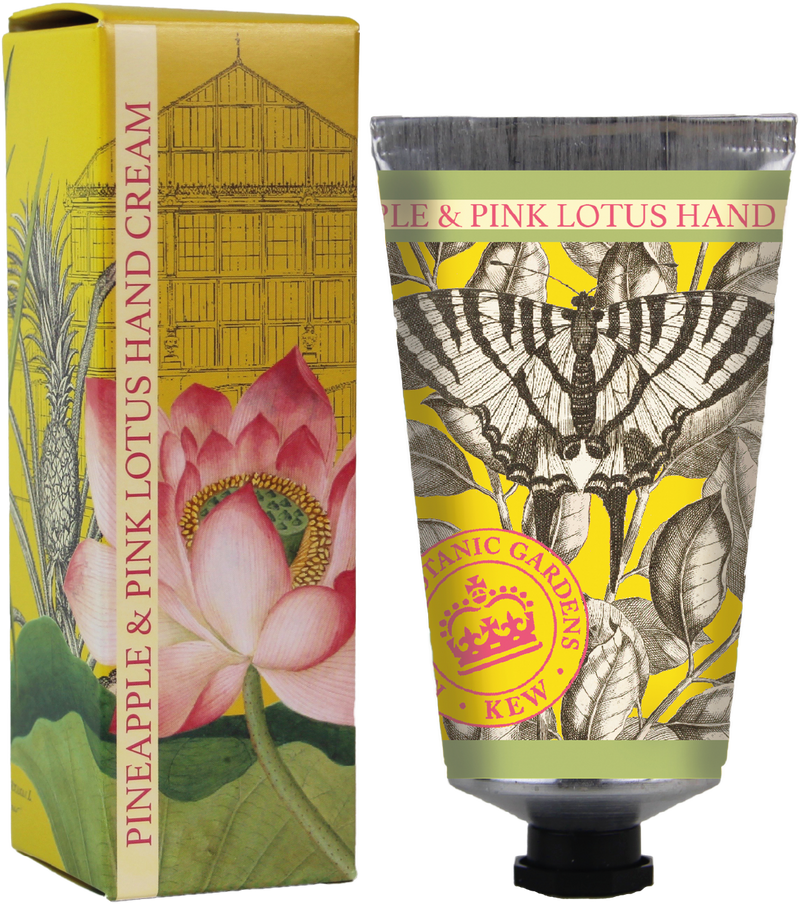 Kew Gardens Pineapple and Pink Lotus hand cream - Daisy Park