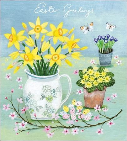 Easter Greetings Pack of 5 Cards - Daisy Park