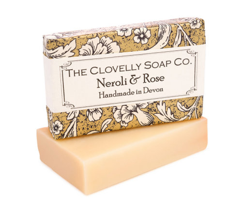Clovelly soap Neroli and Rose soap - Daisy Park