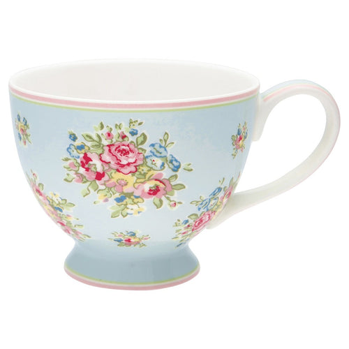 Greengate pale blue Franka teacup - Daisy Park