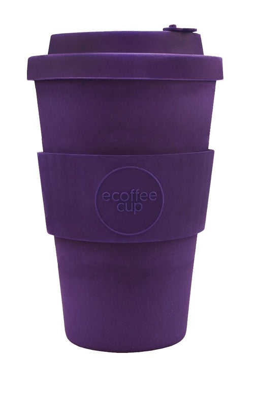 Sapere Aude Purple 14oz Ecoffee cup