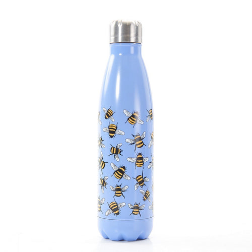 Eco Chic Blue Bee Thermal bottle - Daisy Park