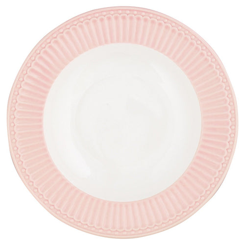 Greengate pale pink Alice dinner plate