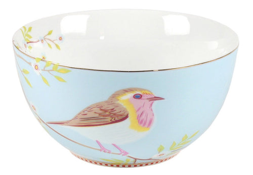 Pip Studio Early bird 15cm blue bowl - Daisy Park