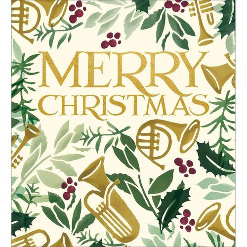 Emma Bridgewater Holly and Ivy Christmas card pack of 5 - Daisy Park