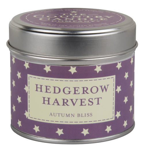 The Country Candle Hedgerow Harvest Candle Tin - Daisy Park