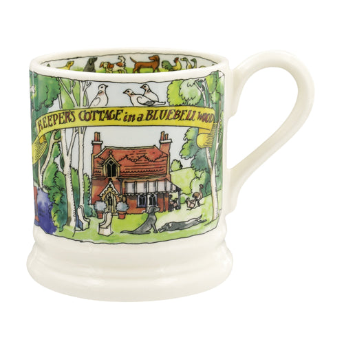 Emma Bridgewater Dream Home Cottage in the Woods 1/2pt mug - Daisy Park