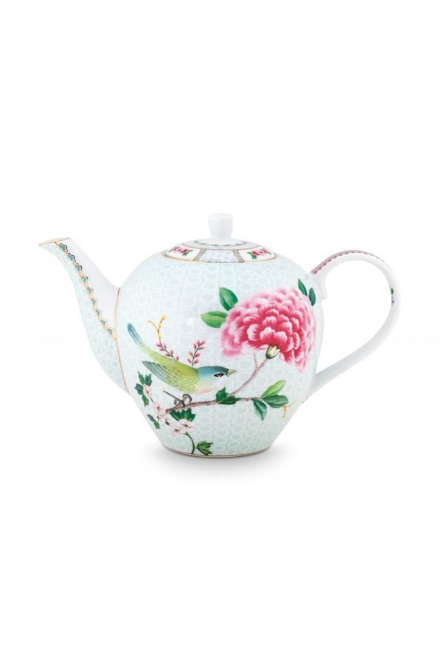 Pip Studio Blushing birds large white teapot - Daisy Park