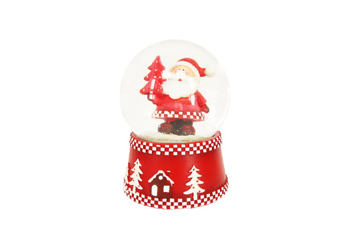 Gisela Graham Scandi Santa music dome - Daisy Park