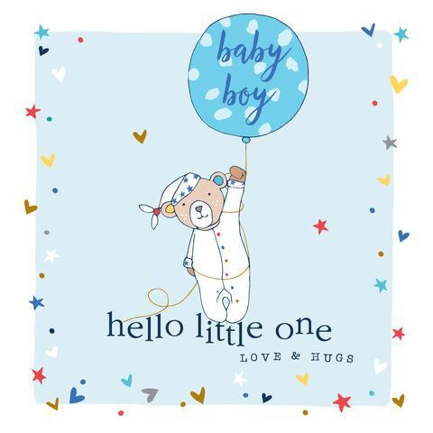 New Baby Boy Card - Daisy Park