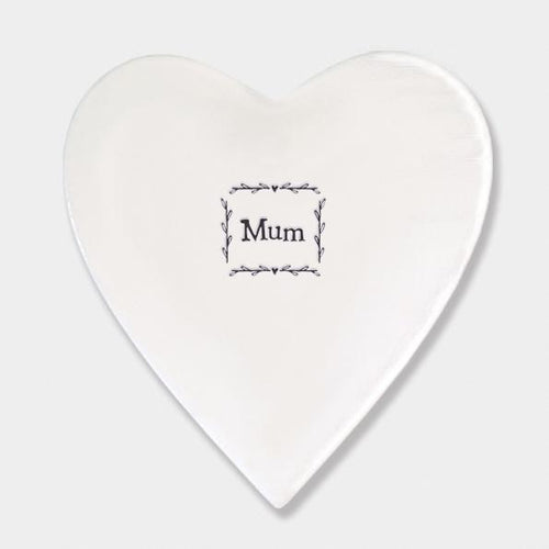East of India Mum Ceramic Coaster - Daisy Park