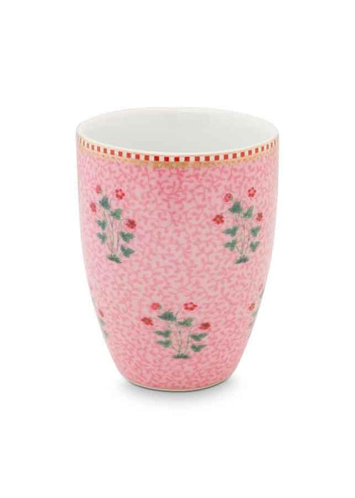 Pip Studio Good Morning pink drinking beaker - Daisy Park
