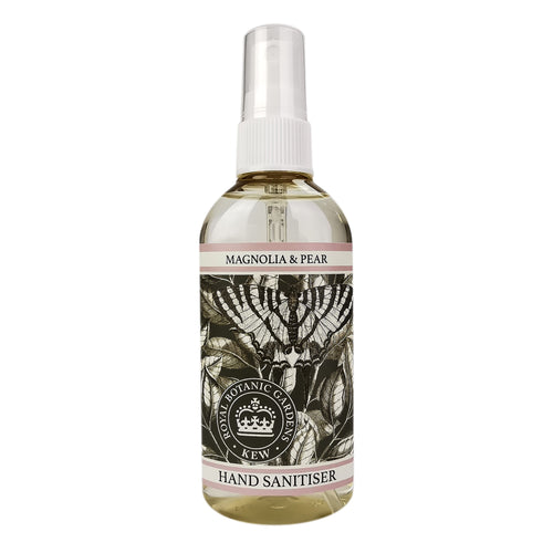Kew Gardens Magnolia and Pear hand sanitiser