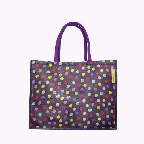 Emma Bridgewater Purple Polka Dot Shopper