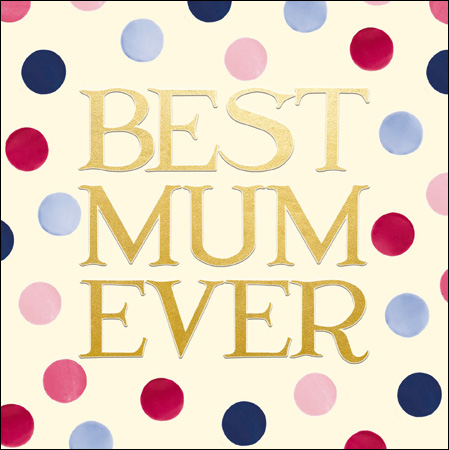 Best Mum Ever card - Daisy Park
