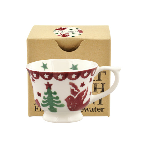 Emma Bridgewater Christmas Joy Tiny Teacup Decoration - Daisy Park