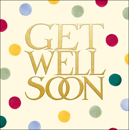 Emma Bridgewater Get Well soon card - Daisy Park