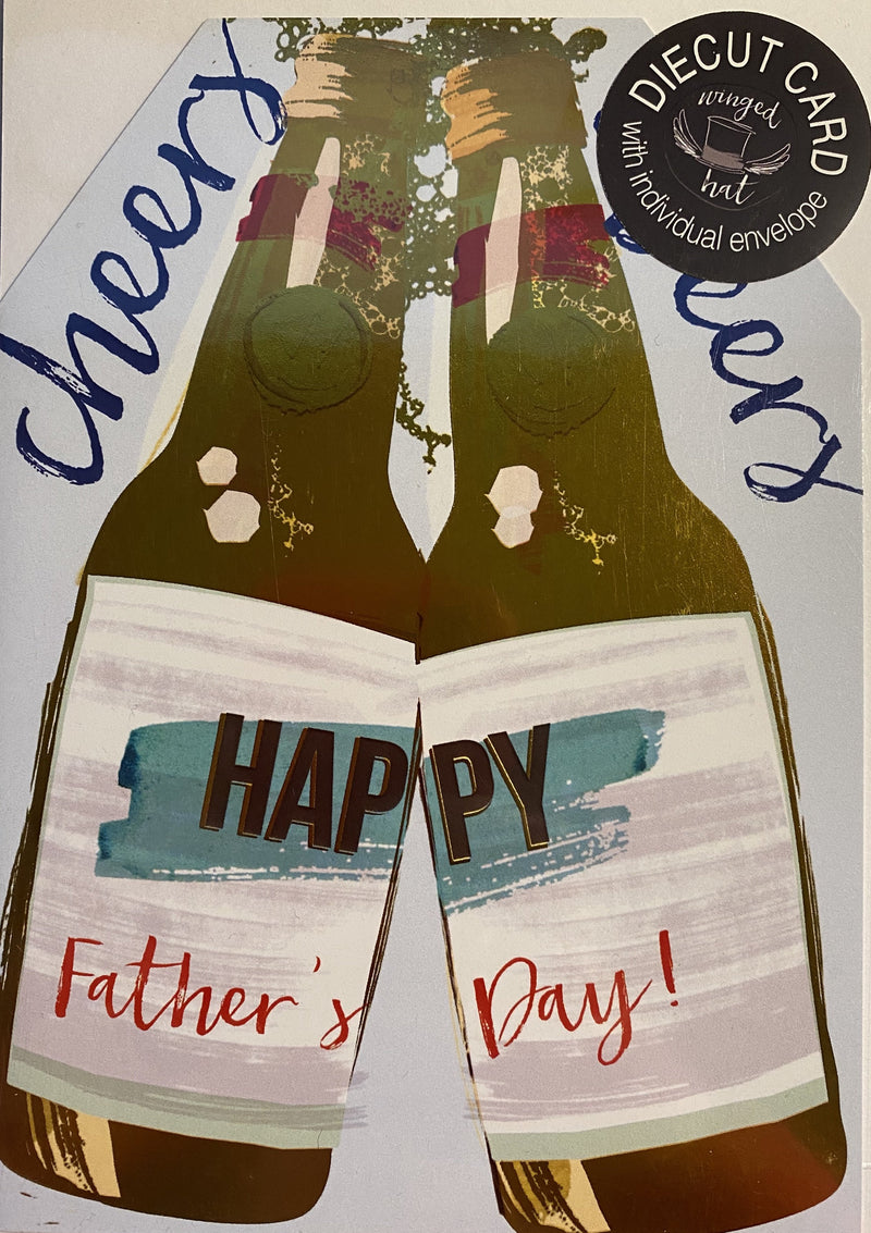 Happy Father's day - Cheers card - Daisy Park