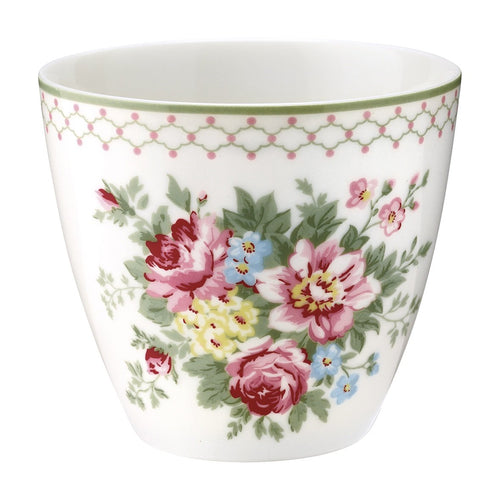 Greengate Aurelia white Latte cup