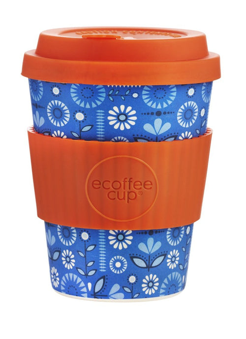 Dutch Oven 12oz Ecoffee cup - Daisy Park