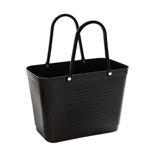 Hinza bag small green plastic - Black - Daisy Park