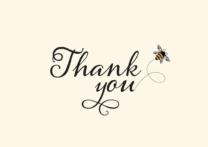 Bumblebee Thank you notes - Daisy Park