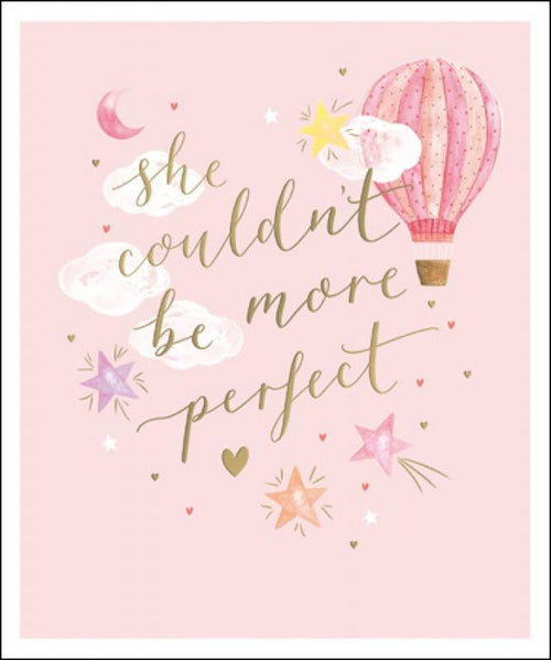 Perfect little girl card - Daisy Park