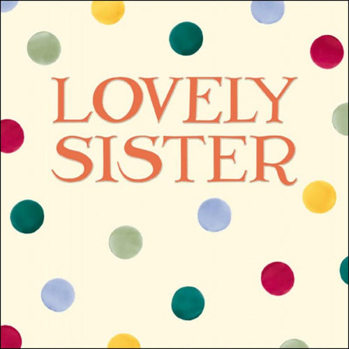 Emma Bridgewater Sister birthday card