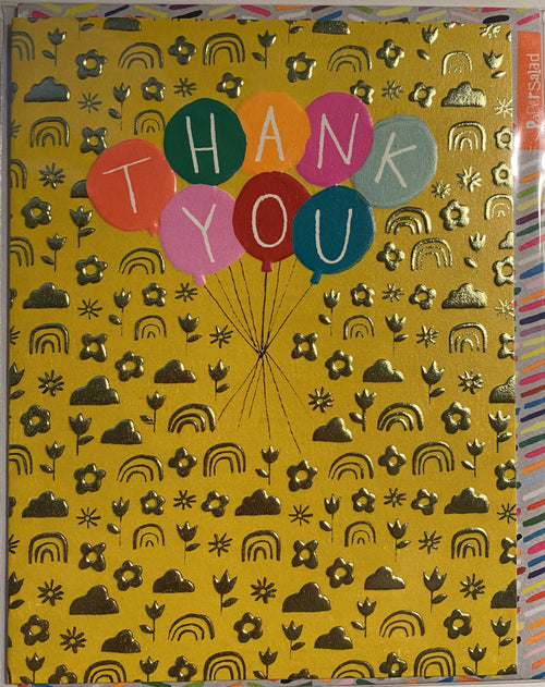 Thank you balloons card - Daisy Park