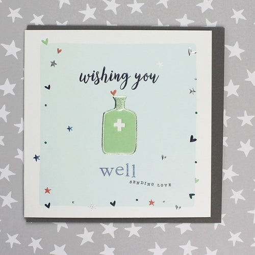 Wishing you well card - Daisy Park