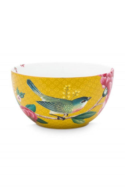 Pip Studio Blushing Birds Yellow 12cm bowl - Daisy Park
