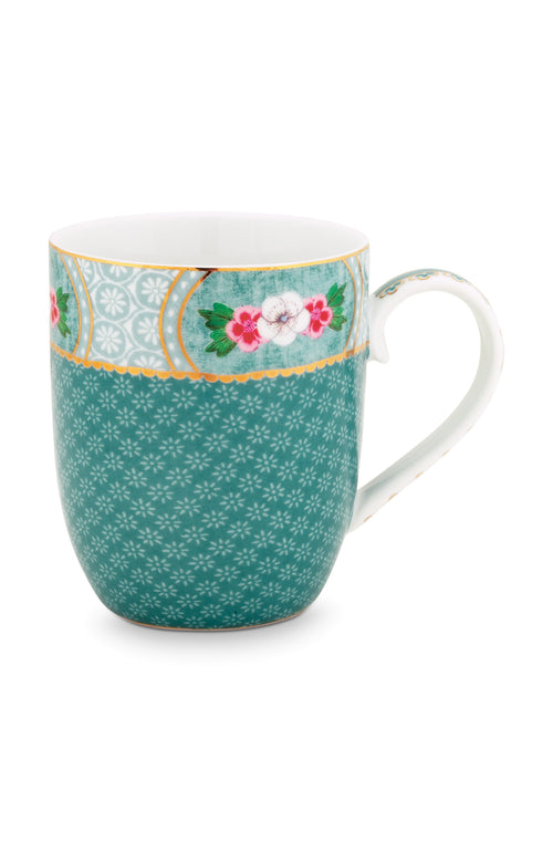 Pip Studio Blushing Birds small blue mug - Daisy Park