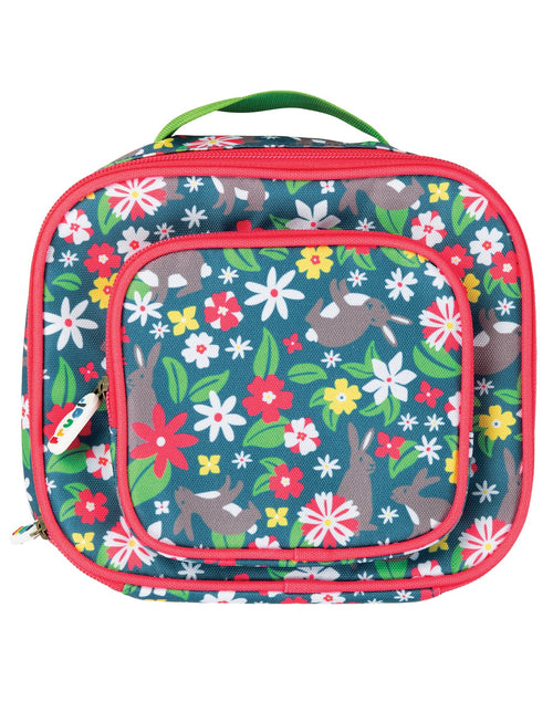 Frugi Rabbit Fields pack a snack lunch bag - Daisy Park