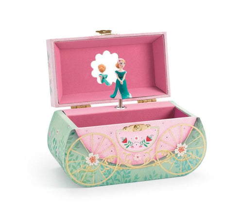 Djeco Carriage Ride music box - Daisy Park